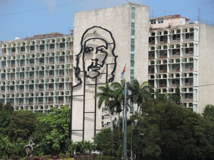 "Ernesto ""Che"" Guevara, the physician turned revolutionary, is deeply revered and immensely  popular in Cuba, probably more so than Fidel Castro. His image is everywhere, whereas I noticed that Fidel Castro's image is much less evident."