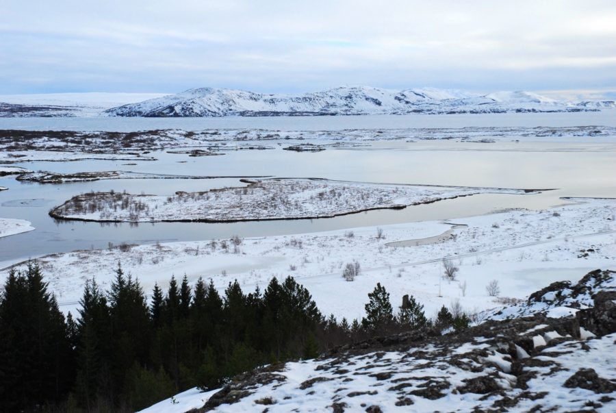 Þingvellir National Park provides a spectacular view of the continental rift, which splits the island and where the American and European continental plates separate from each other. The two tectonic plates move away from each other at about the same rate as fingernails grow.